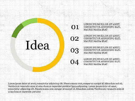 Innovation Process Diagram, Slide 8, 03928, Process Diagrams — PoweredTemplate.com