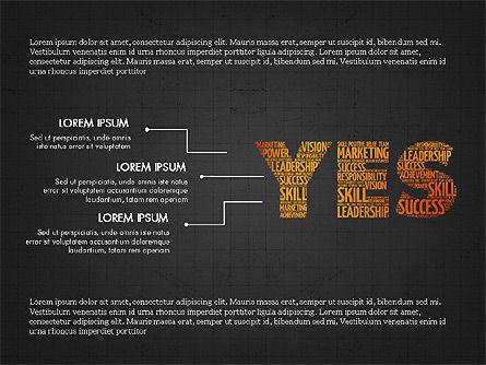 Yes Presentation Concept, Slide 11, 03930, Presentation Templates — PoweredTemplate.com