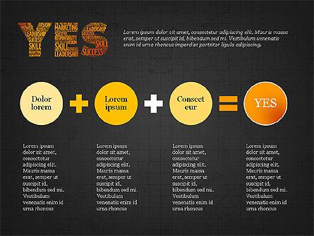Yes Presentation Concept, Slide 14, 03930, Presentation Templates — PoweredTemplate.com