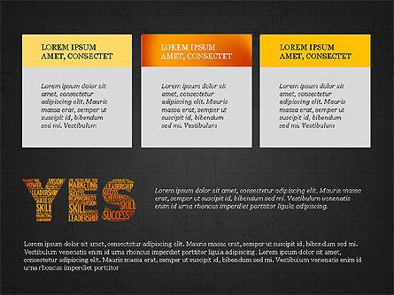 Yes Presentation Concept, Slide 16, 03930, Presentation Templates — PoweredTemplate.com