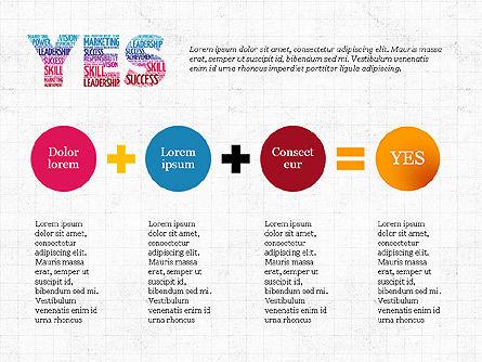 Yes Presentation Concept, Slide 6, 03930, Presentation Templates — PoweredTemplate.com