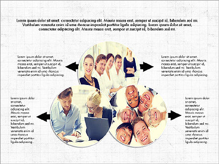 Financial Team Presentation Concept, Slide 4, 03932, Process Diagrams — PoweredTemplate.com