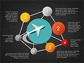 Travel by Air Presentation Infographics#14