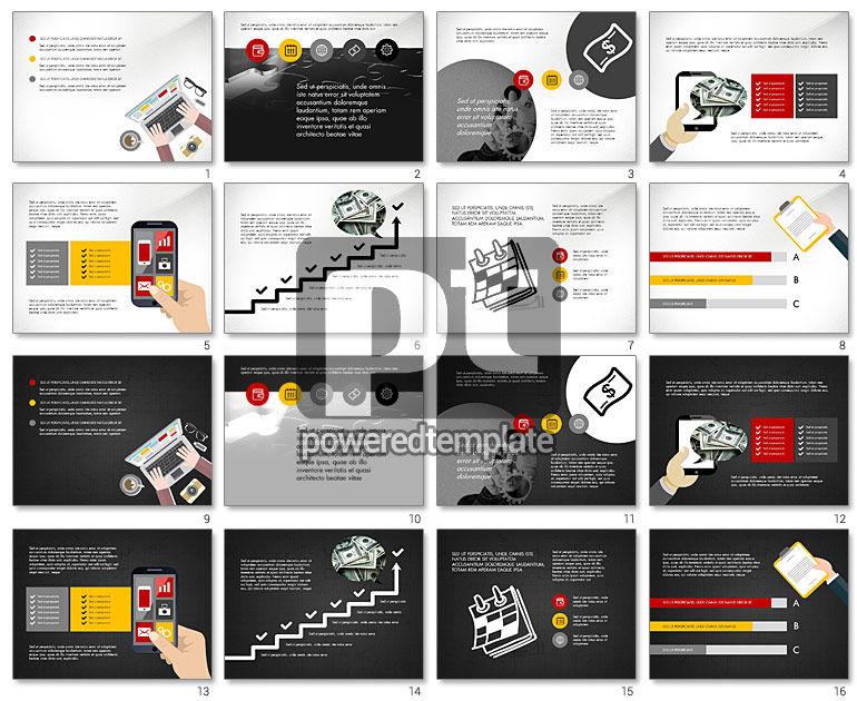 Online Finances Presentation Concept