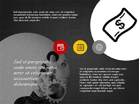 Online Finances Presentation Concept, Slide 11, 03937, Presentation Templates — PoweredTemplate.com
