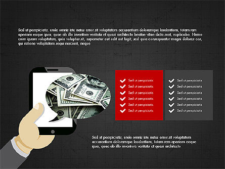 Online Finances Presentation Concept, Slide 12, 03937, Presentation Templates — PoweredTemplate.com
