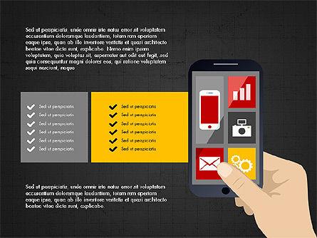 Online Finances Presentation Concept, Slide 13, 03937, Presentation Templates — PoweredTemplate.com