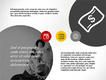 Online Finances Presentation Concept, Slide 3, 03937, Presentation Templates — PoweredTemplate.com