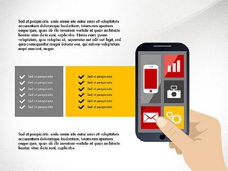 Online Finances Presentation Concept, Slide 5, 03937, Presentation Templates — PoweredTemplate.com