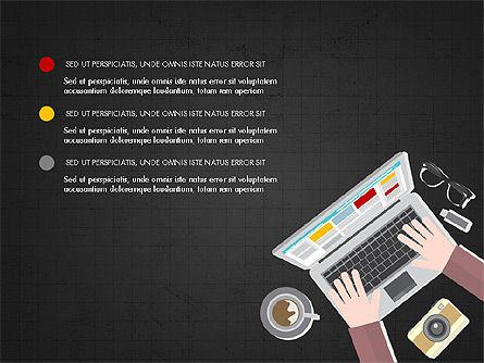 Online Finances Presentation Concept, Slide 9, 03937, Presentation Templates — PoweredTemplate.com