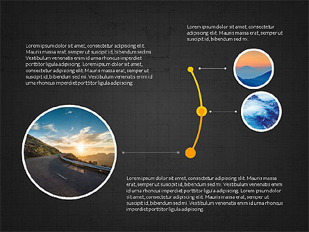 Timeline and Options Slide Deck, Slide 12, 03939, Timelines & Calendars — PoweredTemplate.com