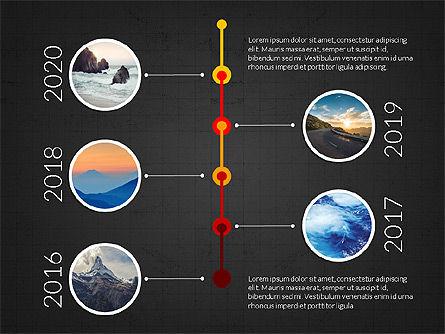 Timeline and Options Slide Deck, Slide 13, 03939, Timelines & Calendars — PoweredTemplate.com