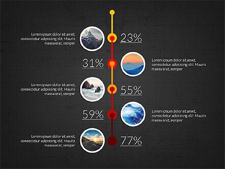 Timeline and Options Slide Deck, Slide 15, 03939, Timelines & Calendars — PoweredTemplate.com