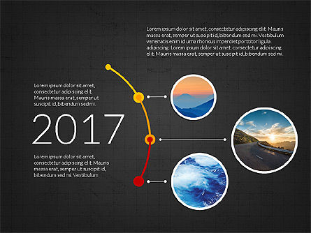 Timeline and Options Slide Deck, Slide 9, 03939, Timelines & Calendars — PoweredTemplate.com
