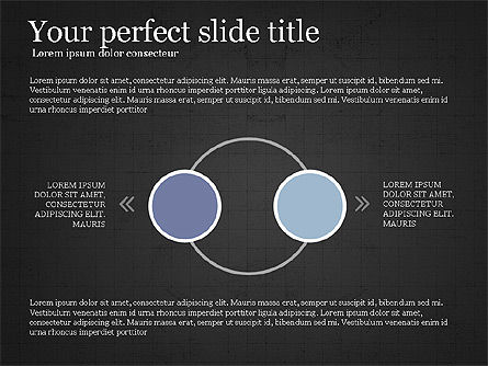Flow Process Flat Design Diagrams, Slide 15, 03941, Process Diagrams — PoweredTemplate.com