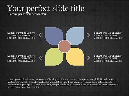 Flow Process Flat Design Diagrams, Slide 9, 03941, Process Diagrams — PoweredTemplate.com