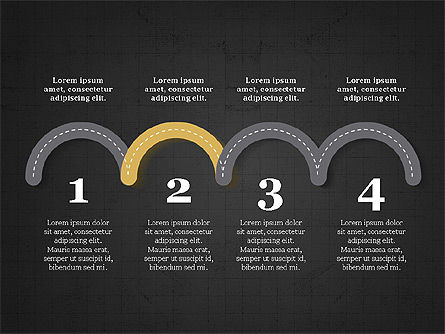 Roadmap Presentation Deck, Slide 14, 03942, Business Models — PoweredTemplate.com