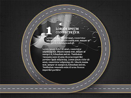 Roadmap Presentation Deck, Slide 9, 03942, Business Models — PoweredTemplate.com