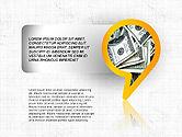 Business Models: Speech Bubble Themed Presentation Deck #03943