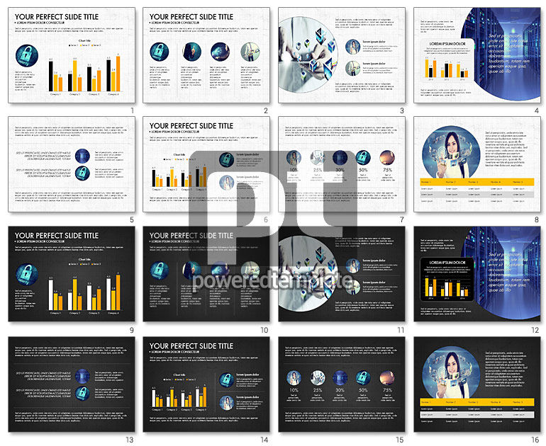 Internet Technology Presentation Template