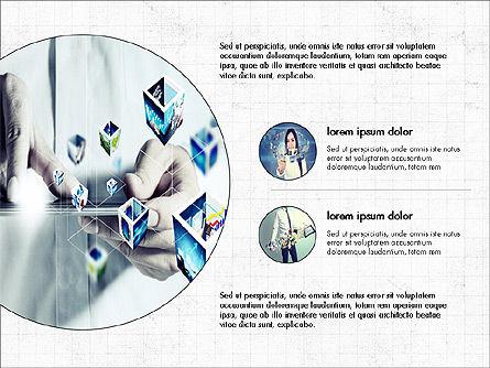 Internet Technology Presentation Template, Slide 3, 03944, Presentation Templates — PoweredTemplate.com