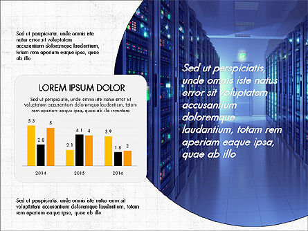 Internet Technology Presentation Template, Slide 4, 03944, Presentation Templates — PoweredTemplate.com