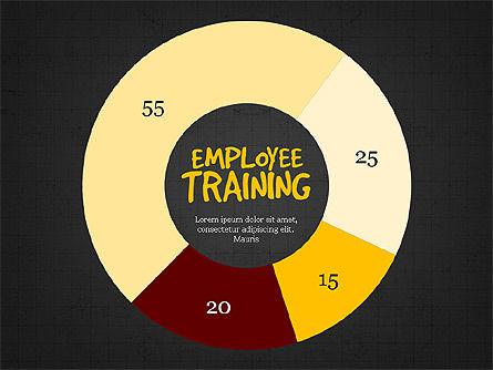 Employee Training Process Diagram, Slide 15, 03945, Business Models — PoweredTemplate.com