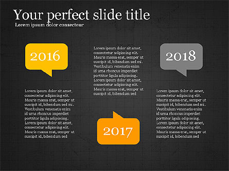 Years Comparison Infographic Slides, Slide 13, 03946, Infographics — PoweredTemplate.com
