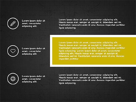 Trendy Presentation with Thin Icons, Slide 11, 03947, Presentation Templates — PoweredTemplate.com