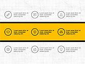 Presentation Templates: Presentasi Trendi Dengan Ikon Tipis #03947