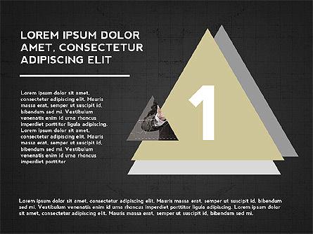 Four Steps Presentation Concept, Slide 10, 03948, Stage Diagrams — PoweredTemplate.com