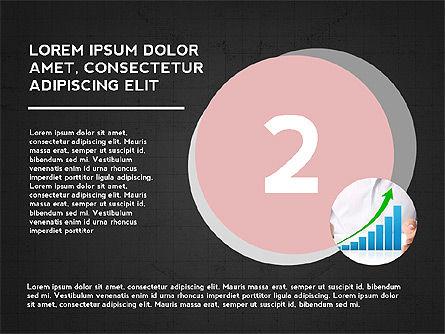 Four Steps Presentation Concept, Slide 11, 03948, Stage Diagrams — PoweredTemplate.com