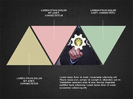 Four Steps Presentation Concept, Slide 15, 03948, Stage Diagrams — PoweredTemplate.com