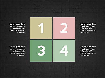 Four Steps Presentation Concept, Slide 16, 03948, Stage Diagrams — PoweredTemplate.com