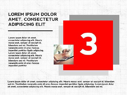 Four Steps Presentation Concept, Slide 4, 03948, Stage Diagrams — PoweredTemplate.com