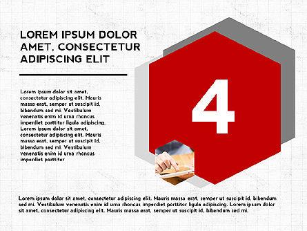Four Steps Presentation Concept, Slide 5, 03948, Stage Diagrams — PoweredTemplate.com