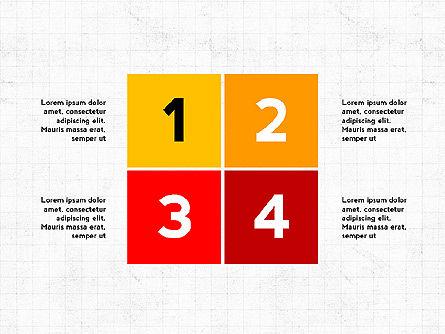 Four Steps Presentation Concept, Slide 8, 03948, Stage Diagrams — PoweredTemplate.com