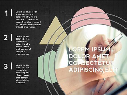 Four Steps Presentation Concept, Slide 9, 03948, Stage Diagrams — PoweredTemplate.com