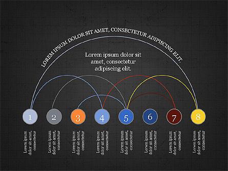 Arc Diagram Slide Deck, Slide 10, 03951, Business Models — PoweredTemplate.com