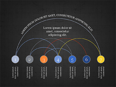 Arc Diagram Slide Deck, Slide 11, 03951, Business Models — PoweredTemplate.com