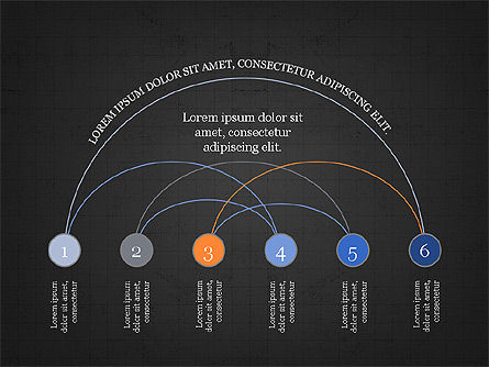 Arc Diagram Slide Deck, Slide 12, 03951, Business Models — PoweredTemplate.com