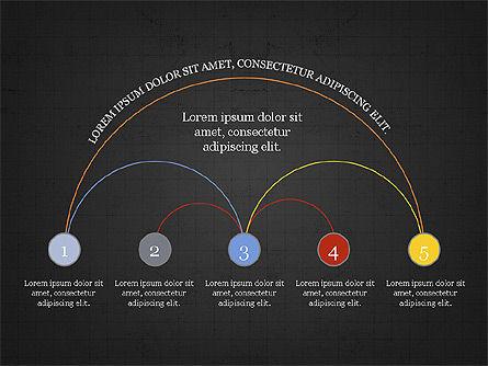 Arc Diagram Slide Deck, Slide 13, 03951, Business Models — PoweredTemplate.com