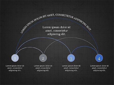 Arc Diagram Slide Deck, Slide 14, 03951, Business Models — PoweredTemplate.com