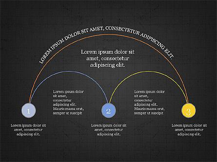Arc Diagram Slide Deck, Slide 15, 03951, Business Models — PoweredTemplate.com