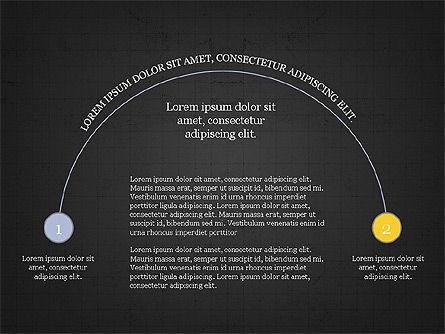 Arc Diagram Slide Deck, Slide 16, 03951, Business Models — PoweredTemplate.com
