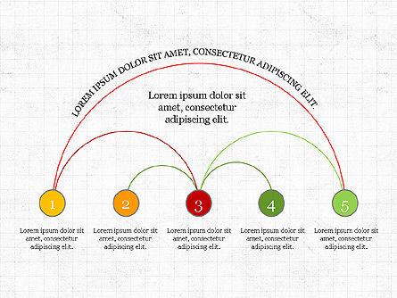 Arc Diagram Slide Deck, Slide 5, 03951, Business Models — PoweredTemplate.com