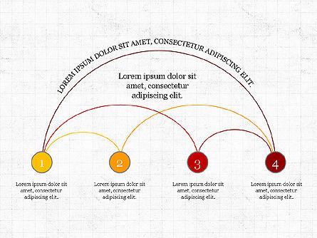Arc Diagram Slide Deck, Slide 6, 03951, Business Models — PoweredTemplate.com