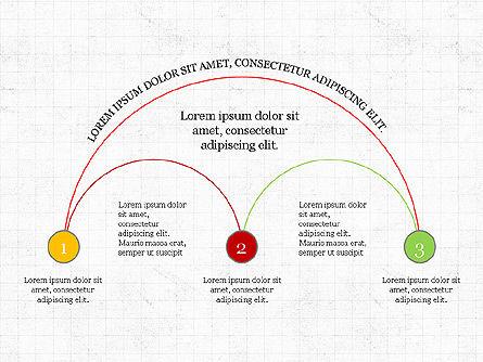 Arc Diagram Slide Deck, Slide 7, 03951, Business Models — PoweredTemplate.com