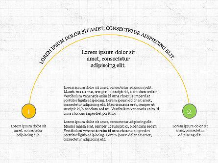 Arc Diagram Slide Deck, Slide 8, 03951, Business Models — PoweredTemplate.com