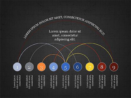 Arc Diagram Slide Deck, Slide 9, 03951, Business Models — PoweredTemplate.com